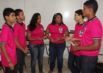 Protagonismo - Jovens mobilizam comunidade para ações voluntárias