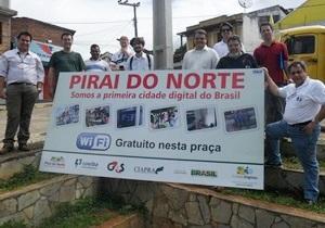 Programa Cidades Digitais é implantado nos municípios baianos de Nilo Peçanha e Piraí do Norte