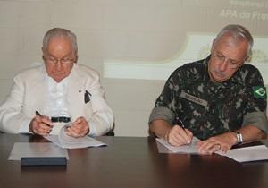 Exército Brasileiro amplia parceria para construção da Estrada Parque