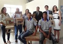 Ministério Público - Ação conjunta possibilita confecção de mobília para creche