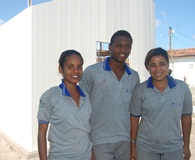 Moradia de PVC é construída na Bahia