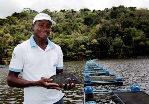 Parceria com BNDES possibilita expansão da aquicultura no Baixo Sul da Bahia