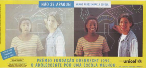 1995 - A instituição assumiu um novo nome e passou a se chamar Fundação Odebrecht (FO)