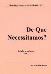 De Que Necessitamos?
