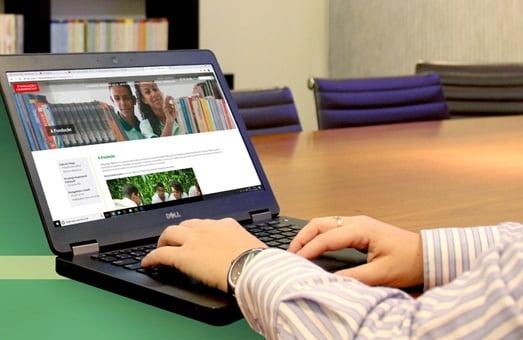 Fundación Odebrecht divulga nuevo sitio web