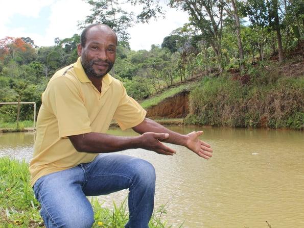 Agricultor é exemplo de conservação ambiental