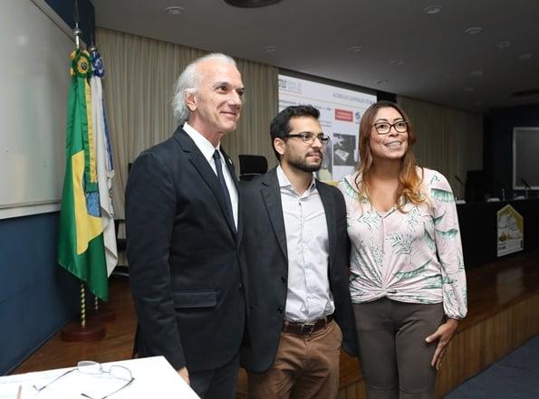 Fundação Odebrecht, UFRRJ e Pro-Natura firman carta de intenciones