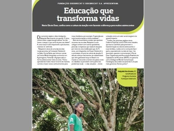 Caderno Especial - Educação que transforma vidas