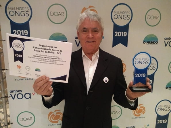 OCT is recognized as the best Environmental NGO in Brazil