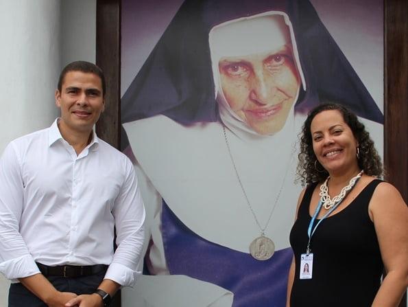 Fundação Odebrecht realiza doação de alimentos para Obras Sociais Irmã Dulce