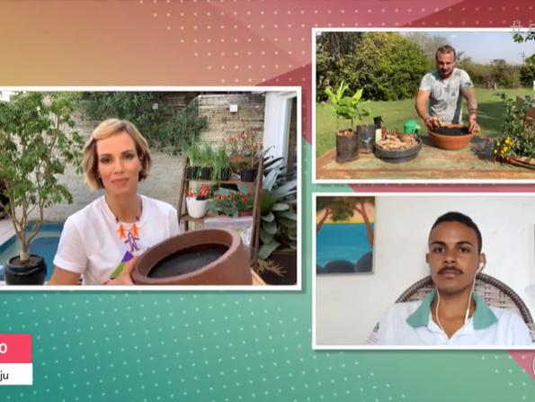 Casa Familiar é destaque em programa da Rede Globo