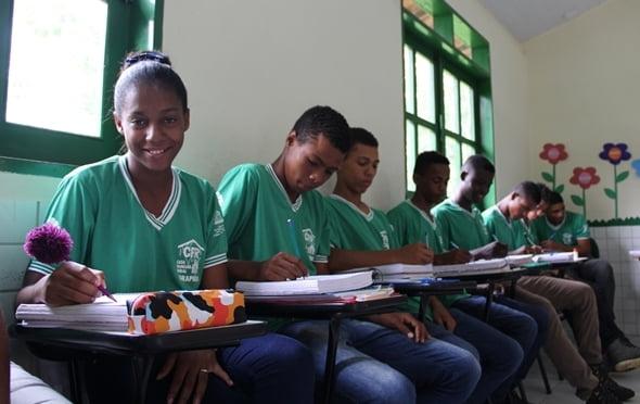 Jovens do Baixo Sul participam do projeto Mais Estudo