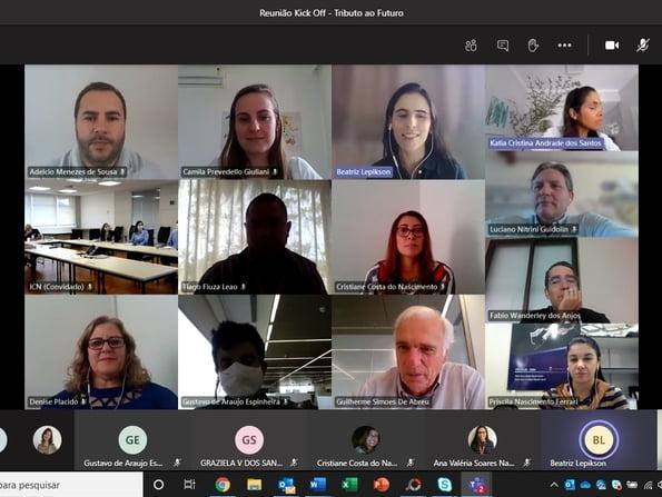 Encuentro virtual calienta el inicio de la Campaña del Tributo al Futuro