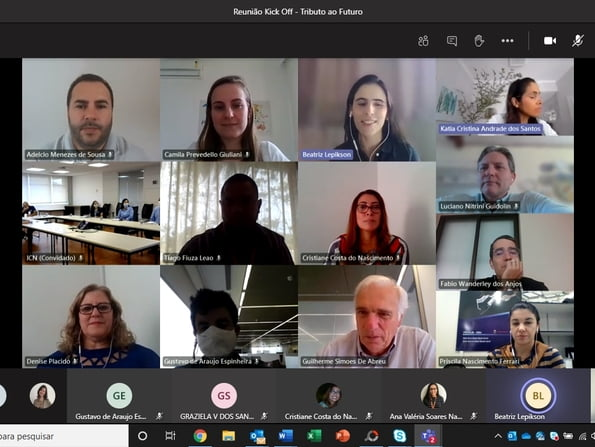 Virtual meeting heats up the start of the Tribute to the Future Campaign