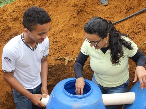 Instalação de fossas sépticas é uma das 10 soluções mais inovadoras do Brasil