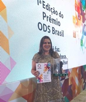 Cfaf é reconhecida com Prêmio ODS Brasil