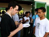 Jovens jornalistas visitam a Fundação e conhecem o Programa DIS Baixo Sul