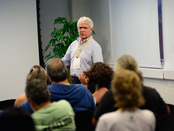 palestra da oct sobre conservação ambiental no baixo sul da bahia
