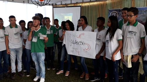 Escola rural trabalha com a formação de jovens do campo