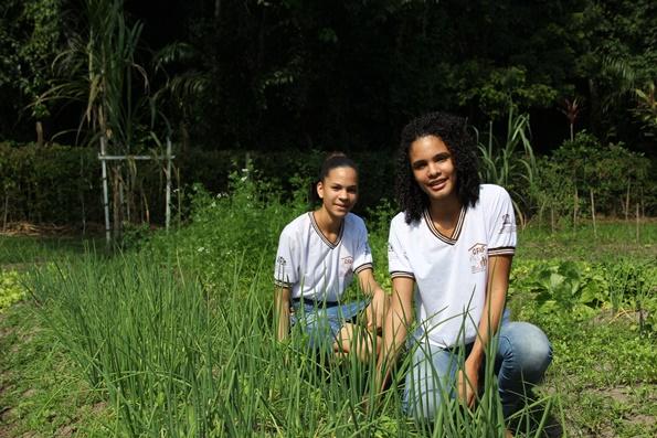 Jovens empreendedoras rurais alunas da Cfaf