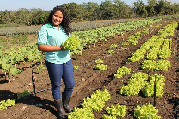 Neilma Brito is one of the youth that joined the 1st year of the Family Homes in the Baixo Sul region of Bahia