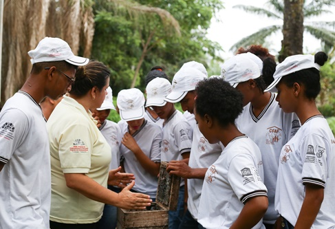 Cfaf's work with young people in the Southern Bahia Lowlands - Odebrecht Foundation