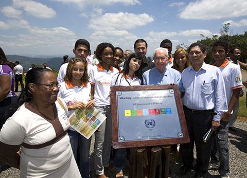 Inauguração do Nucleo Papuã no Baixo Sul da Bahia